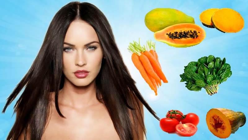 vitamina A para la piel